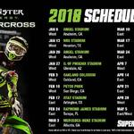 Monster Energy AMA Supercross en  Glendale, AZ 2018