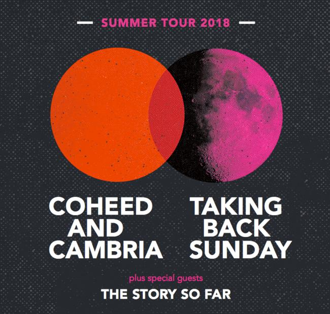 Coheed and Cambria en Berkeley, CA 2018