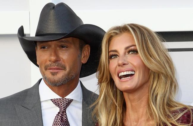 Tim McGraw y Faith Hill en Seattle, WA 2018