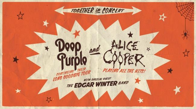 Deep Purple & Alice Cooper en Phoenix, AZ 2017