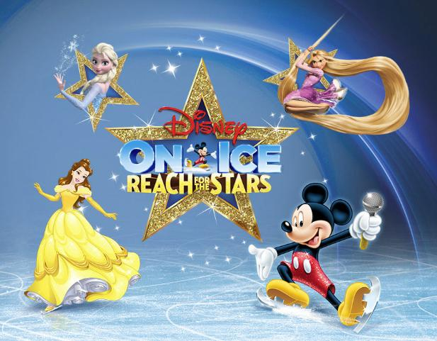 Disney On Ice: Reach For The Stars en Detroit, MI 2017