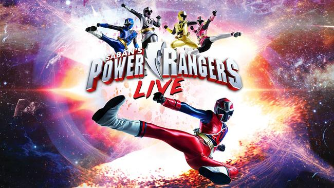 Power Rangers Live! en Santa Barbara, CA 2018