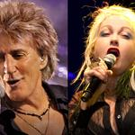Concierto de Rod Stewart & Cyndi Lauper Hollywood, FL 2017