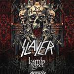 Slayer, Lamb of God, Anthrax, Behemoth y Testament en Bristow, VA 2018