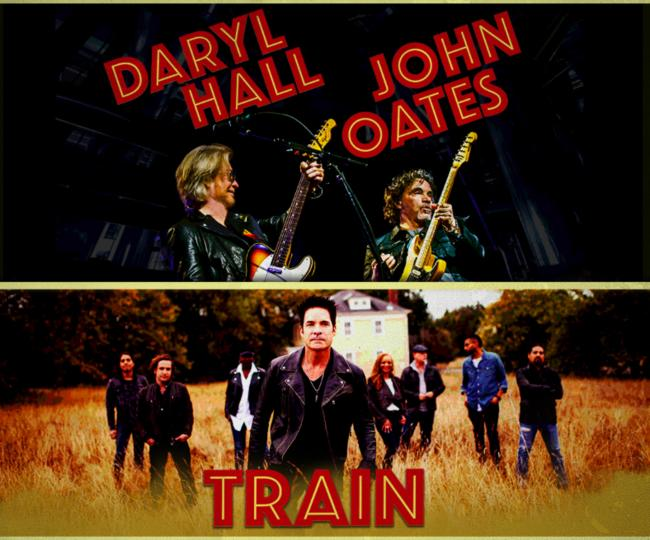 Hall and Oates y Train en Orlando, FL 2018
