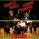 Hall and Oates y Train en Washington DC 2018